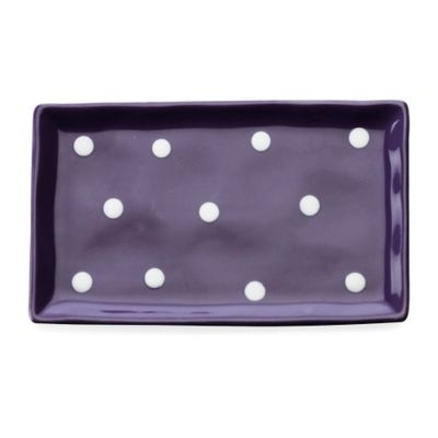 Maxwell & Williams™ Sprinkle Rectangular Tray in Purple
