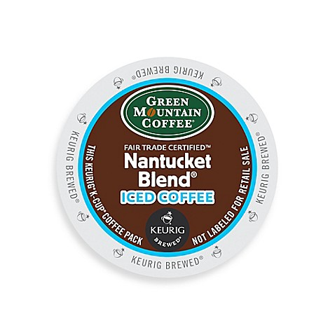 K-Cup® Green Mountain Coffee® 18-Count Nantucket Blend® Iced Coffee for Keurig Brewers