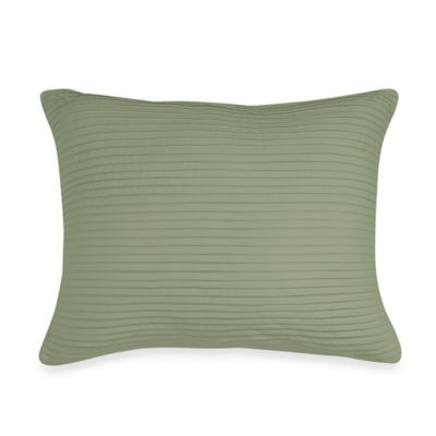 Wamsutta® Baratta Stitch Oblong Throw Pillow in Sage