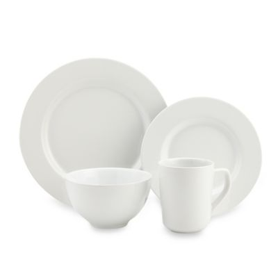 Real Simple® 4-Piece Place Setting in White