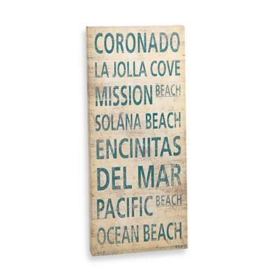 Coronado Places Canvas Art