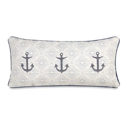Sailboat Oblong Throw Pillow