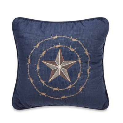 Donna Sharp True Texas Square Decorative Pillow