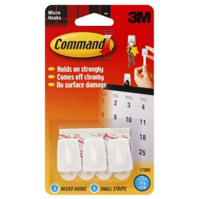 3M Command™ 3-Pack Micro Hooks