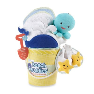 Baby Aspen 3-Piece Beach Buddies Bathtime Bucket Gift Set
