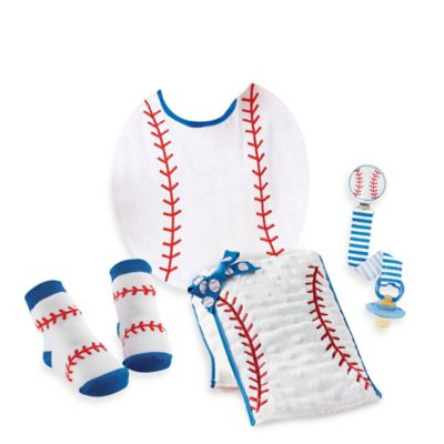 Mud Pie® 4-Piece Baseball Gift Set