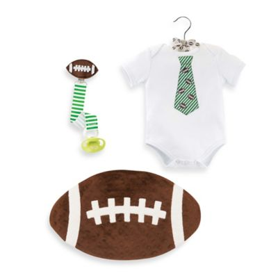 Mud Pie® 4-Piece Deluxe Football Gift Set