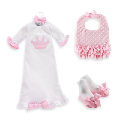 Mud Pie® 3-Piece Princess Gown Gift Set