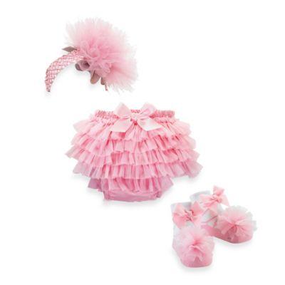 Mud Pie® 3-Piece Princess Bloomer Gift Set