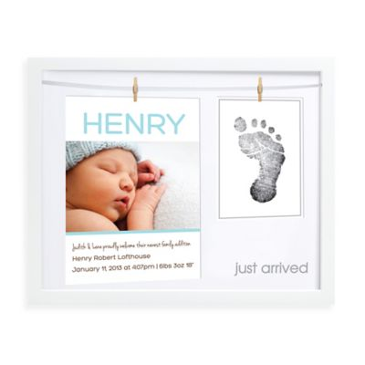 Pearhead Babyprints Birth Announcement Frame