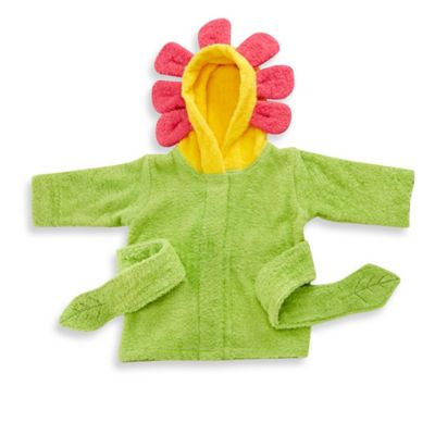 Baby Aspen Showers and Flowers Hooded Spa Bathrobe