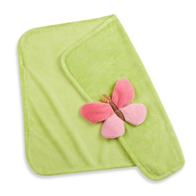 Baby Aspen Butterfly Plush Velour Blanket