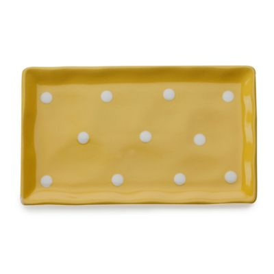 Maxwell & Williams™ Sprinkle Collection 10-Inch Rectangular Tray in Yellow