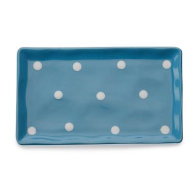 Maxwell & Williams™ Sprinkle Rectangular Tray in Sky