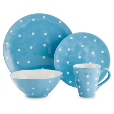 Maxwell & Williams™ Sprinkle Collection 4-Piece Place Setting in Sky
