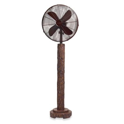 Deco Breeze® Fir Bark 16-Inch Standing Floor Fan