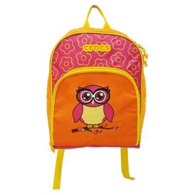 Crocs™ Pre-School Backpack in Pink/Owl