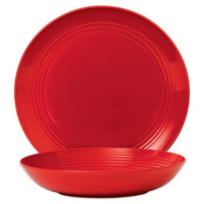 Gordon Ramsay by Royal Doulton® Maze Chili 2-Piece Serving Set in Red