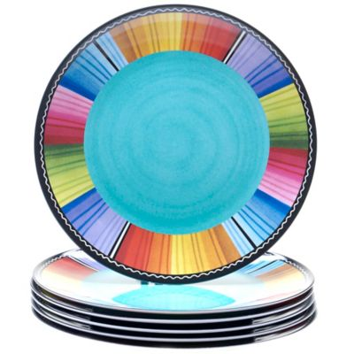 Certified International Serape 11-Inch Dinner Plates (Set of 6)