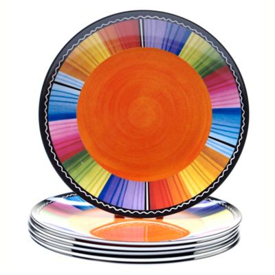 Certified International Serape 9-Inch Salad Plates (Set of 6)