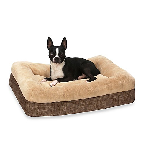 dave bolster pillow top pet bed bed bath beyond. Black Bedroom Furniture Sets. Home Design Ideas