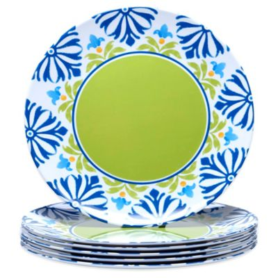 Certified International Mediterranean Dinner Plates (Set of 6)