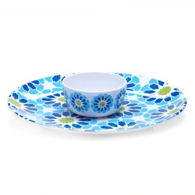 Certified International Mediterranean 2-Piece Chip and Dip Set