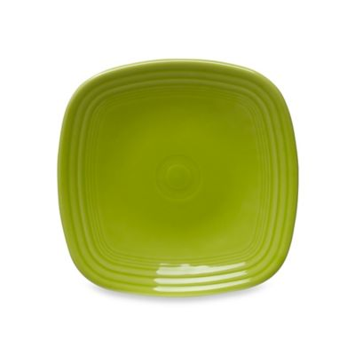 Fiesta® Square Salad Plate in Lemongrass