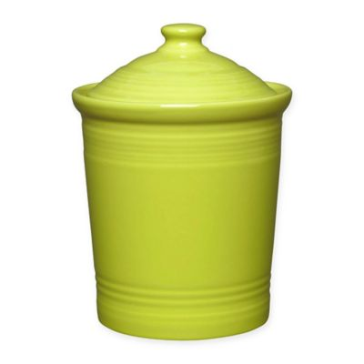 Fiesta® Large Canister in Lemongrass