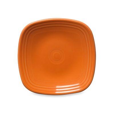 Fiesta® Square Salad Plate in Tangerine