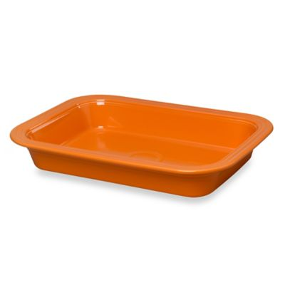 Fiesta® Rectangular Baker in Tangerine