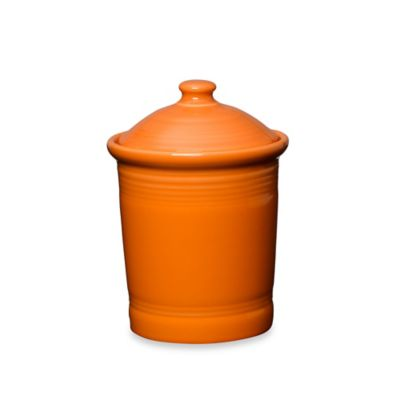 Fiesta® Small Canister in Tangerine