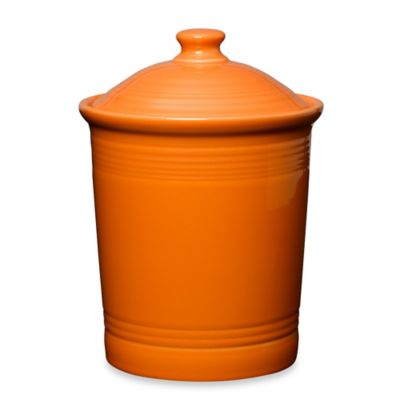 Fiesta® Large Canister in Tangerine