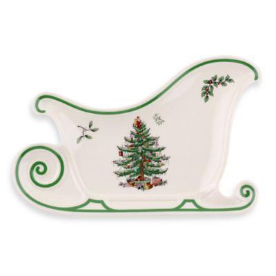 Spode® Christmas Tree Sleigh Platter