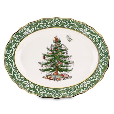 Spode® Christmas Tree 15.5-Inch Embossed Large Platter