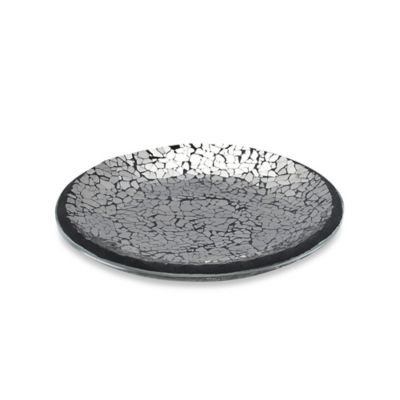 Black Crackle Soap Dish