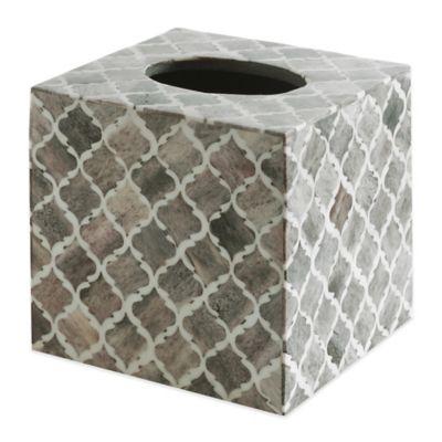 Kassatex Marrakesh Real Bone Boutique Tissue Cover