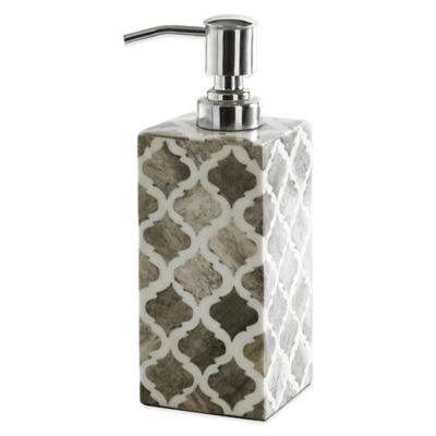 Kassatex Marrakesh Real Bone Lotion Dispenser