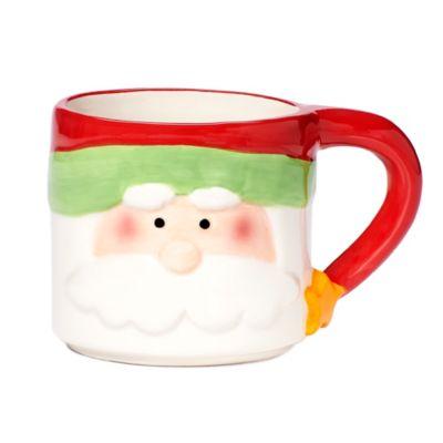 Holiday Santa Mug