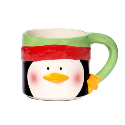 Pfaltzgraff® 12 oz. Holiday Penguin Stacking Mug