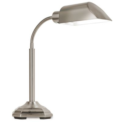 OttLite® Alexander Desk Lamp in Brushed Nickel