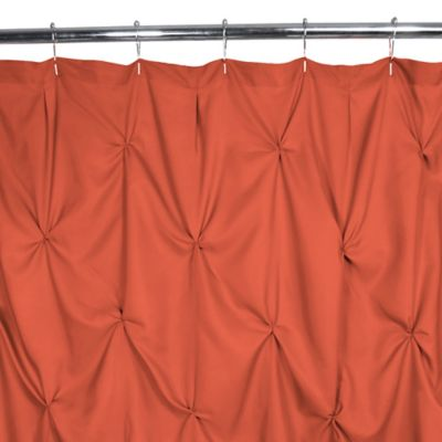 Park B. Smith White Shower Curtain