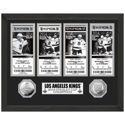 NHL Los Angeles Kings 2014 Stanley Cup Champions Ticket Collection