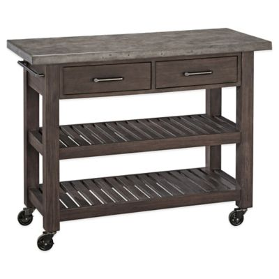 Grey Kitchen Cart