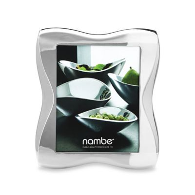 Nambe Bella 8-Inch x 10-Inch Picture Frame