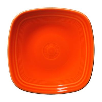 Salad Plate in Poppy