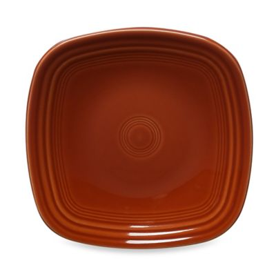 Fiesta® Square Salad Plate in Paprika