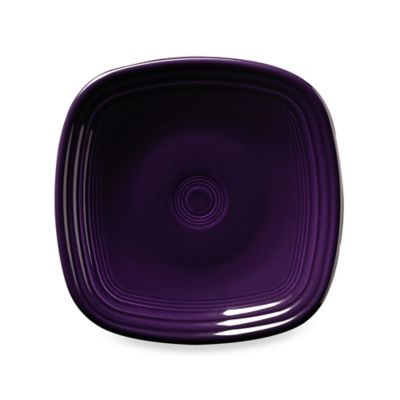 Fiesta® Square Salad Plate in Plum