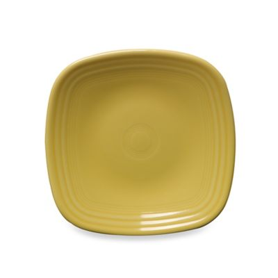 Fiesta® Square Salad Plate in Sunflower