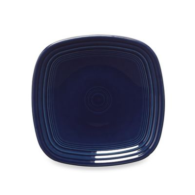 Fiesta® Square Salad Plate in Cobalt